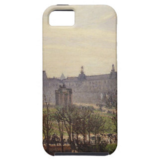 The Carrousel, Autumn, Morning by Camille Pissarro iPhone SE/5/5s Case