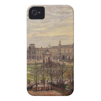 The Carrousel, Grey Weather by Camille Pissarro Case-Mate iPhone 4 Case