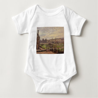 The Carrousel, Grey Weather by Camille Pissarro T-shirt