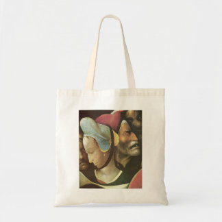 The Carrying of the Cross by Hieronymus Bosch Tote Bags