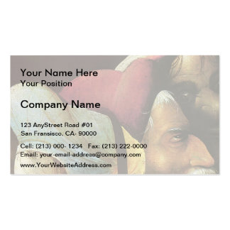 The Carrying of the Cross by Hieronymus Bosch Double-Sided Standard Business Cards (Pack Of 100)