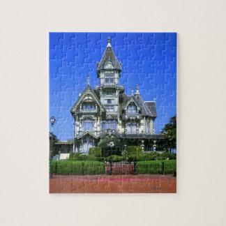 The Carson Mansion in Eureka, California Jigsaw Puzzle
