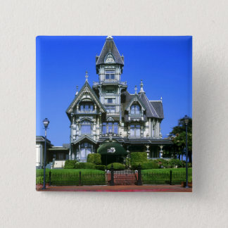The Carson Mansion in Eureka, California Pinback Button