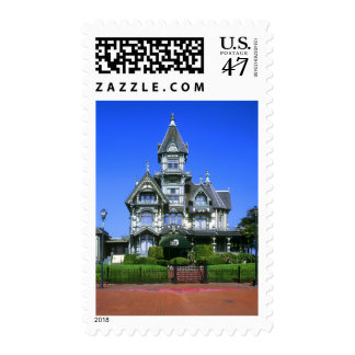 The Carson Mansion in Eureka, California Postage Stamp