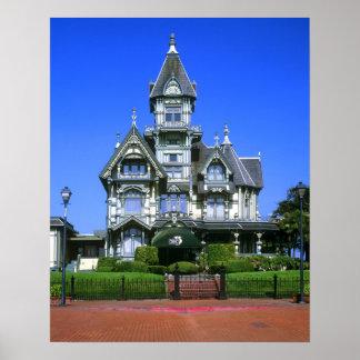 The Carson Mansion in Eureka, California Print