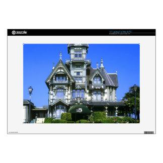 The Carson Mansion in Eureka, California Skin For Laptop