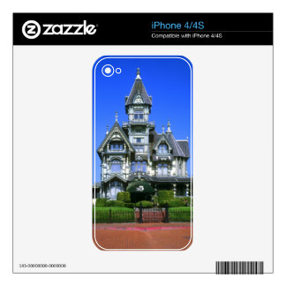 The Carson Mansion in Eureka, California Skin For The iPhone 4
