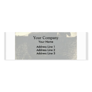 The cart or the horse hauler by Georges Seurat Business Card