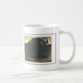 The cart or the horse hauler by Georges Seurat Coffee Mugs