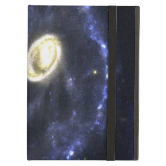The Cartwheel Galaxy- Result of a Bull's-Eye Colli iPad Air Cases