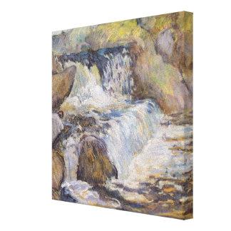The Cascade Canvas Print