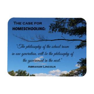 The Case for Homeschooling. Magnet