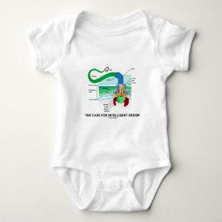 The Case For Intelligent Design (Flagellum) Baby Bodysuit