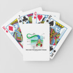 The Case For Intelligent Design (Flagellum) Bicycle Playing Cards