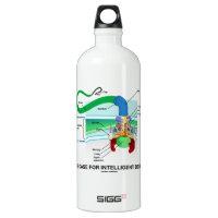 The Case For Intelligent Design (Flagellum) SIGG Traveler 1.0L Water Bottle
