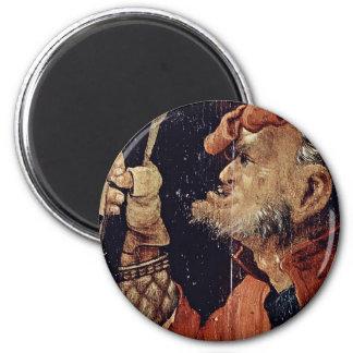 The Case Of Christ Under The Cross Detail By Grüne Fridge Magnets