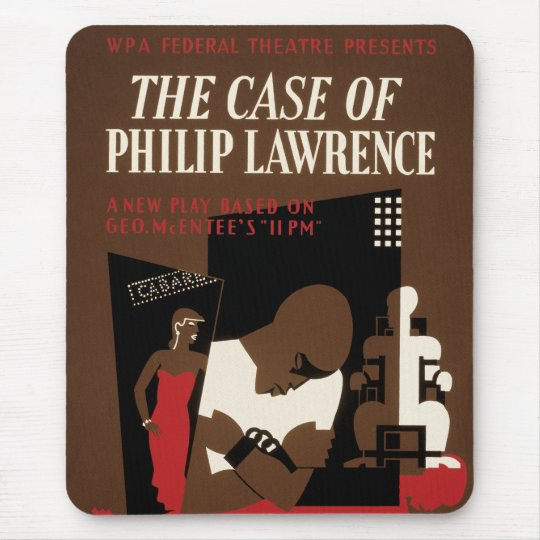 The Case of Philip Lawrence Mouse Pad