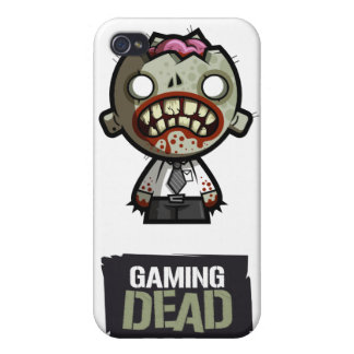 The Case of the Gaming Dead iPhone iPhone 4/4S Covers