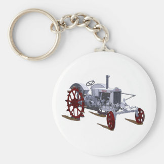 The Case RC Basic Round Button Keychain
