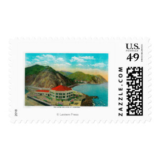 The Casino and Hotel St. Catherine Postage Stamp