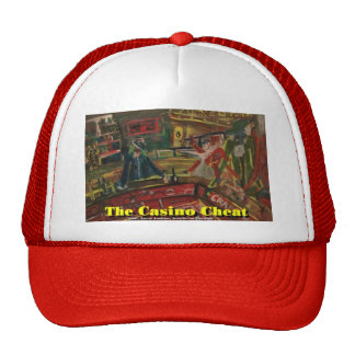the casino cheat trucker hat