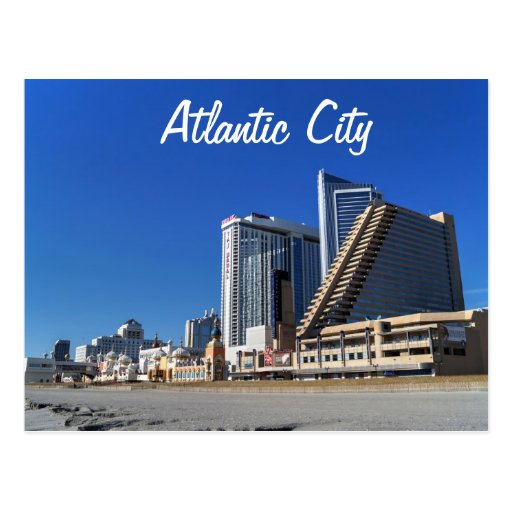 The Casinos in Atlantic City Post Cards