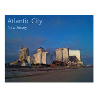 The Casinos of Atlantic City Postcard
