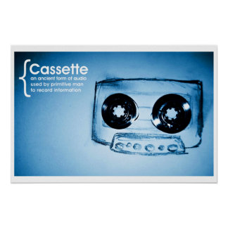 The Cassette Tape Posters