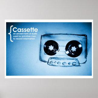 The Cassette Tape Poster