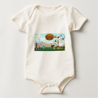 The Cast of Characters Baby Bodysuit
