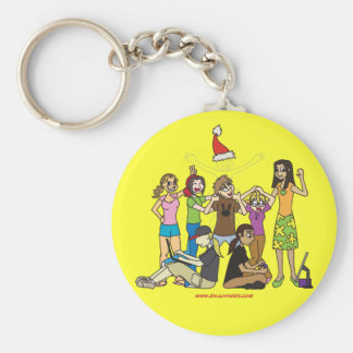 The Cast Shot Keychain