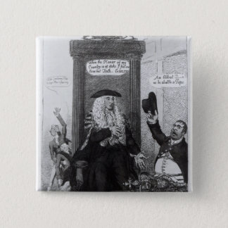 The Casting Vote, or the Independant Speaker Pinback Button