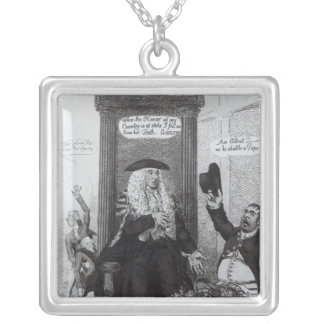 The Casting Vote, or the Independant Speaker Silver Plated Necklace