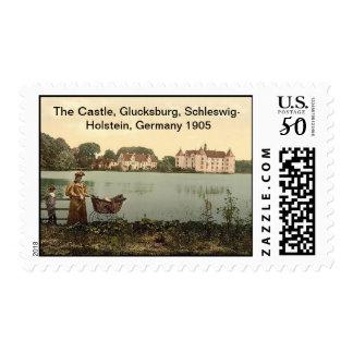 The Castle 1905, Glucksburg, Schleswig-Holstein, G Postage