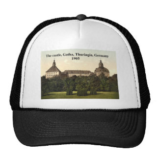 The castle 1905, Gotha, Thuringia, Germany Hat