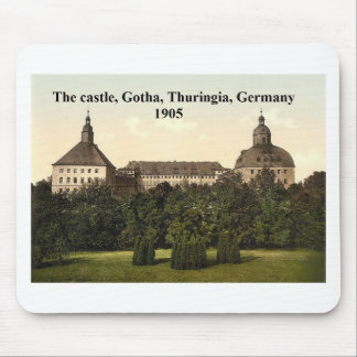The castle 1905, Gotha, Thuringia, Germany Mouse Pad