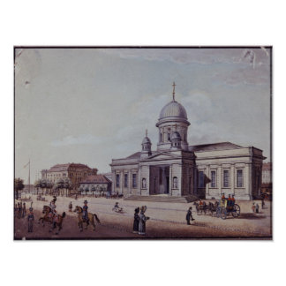The Castle and Cathedral Church, Berlin Poster