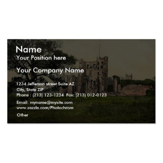 The Castle, Ashby-de-la-Zouch, England vintage Pho Double-Sided Standard Business Cards (Pack Of 100)