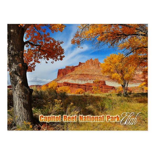 The Castle at Capitol Reef National Park, Utah Postcard