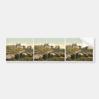 The castle, Dover, England rare Photochrom Bumper Sticker
