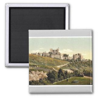 The castle, Dover, England rare Photochrom Magnet