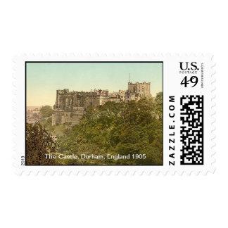 The Castle, Durham, England 1905 Postage