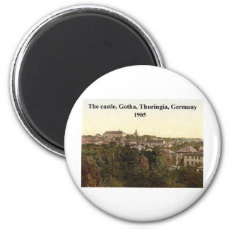 [The castle, Gotha, Thuringia, Germany 1905 Magnet