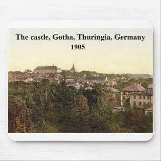 [The castle, Gotha, Thuringia, Germany 1905 Mouse Pad