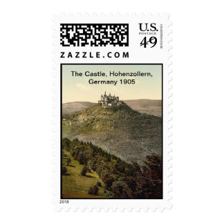 The Castle, Hohenzollern, Germany 1905 Stamps