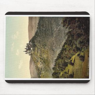 The castle, Hohenzollern, Germany rare Photochrom Mouse Pad
