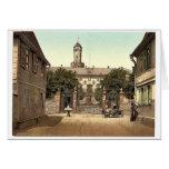 The castle, Homburg (i.e., Bad Homburg vor der H&o Greeting Card