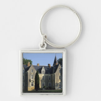 The castle in the park and the gardens MR) 2 Keychain