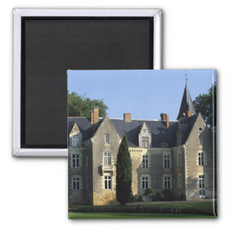 The castle in the park and the gardens MR) 2 Fridge Magnet
