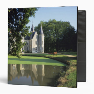 The castle in the park and the gardens MR) 3 Ring Binder